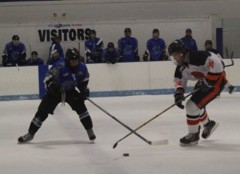 Hershey Ice Hockey Defeats Cedar Crest