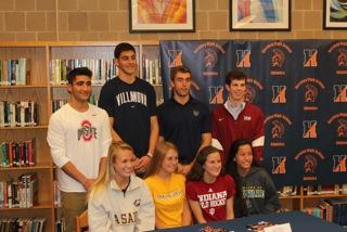Eight HHS Athletes Sign Letters of Intent