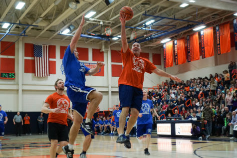 Hershey defeats LD in staff charity basketball game