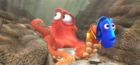 Finding Dory hits theaters June 17, 2016.  A sequel to the 2003 film Finding Nemo, Finding Dory has a runtime of 103 minutes.  (Disney-Pixar)