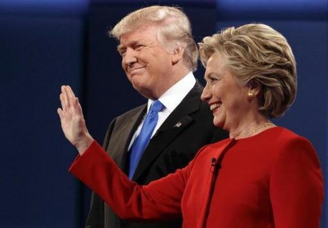 First debate of election puts Clinton in front