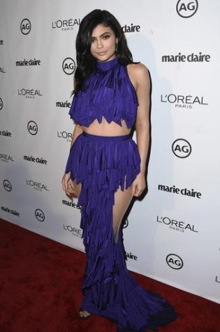 Kylie Jenner arrives at the 2017 Marie Claire Image Maker Awards on Tuesday, Jan. 10, 2017, in West Hollywood, Calif. (Photo by Jordan Strauss/Invision/AP)