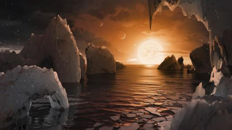 Exoplanet discovery excites science community