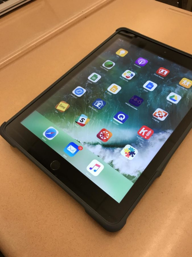 The iPads were introduced during the 2017-2018 Hershey school year. They were distributed the first day of school. (Broadcaster/Alexis Moodie)