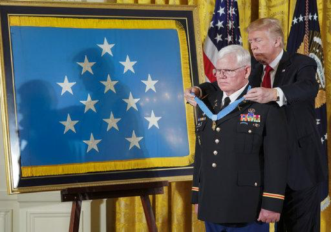 Trump Awards Medal of Honor