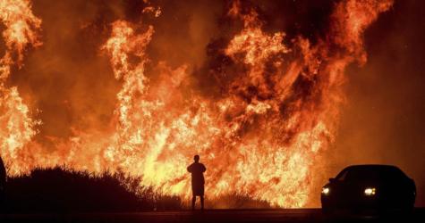California Battles Multiple Wildfires