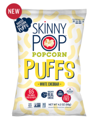 "Above, a picture of one of the new items in the ""Skinnypop"" line is introduced on Amplify's website. Hershey's recent purchase will feature this brand new item.  (Skinnypop Website)"