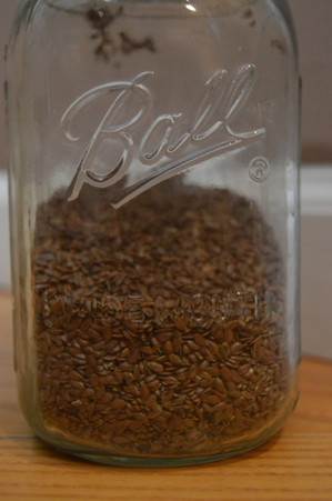 Flaxseeds are small seeds containing omega-3 fatty acid. Flaxseeds are easily able to be added to foods such as smoothies or salads. (Broadcaster/Katie Jones)