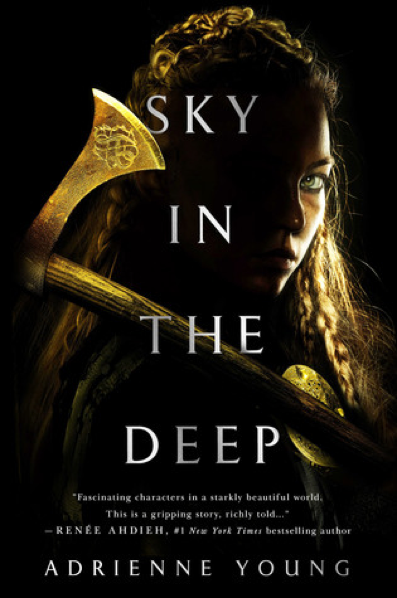 The cover of Adrienne Young's new novel features the main character Eelyn. Author Young stated this novel is a stand alone. There are plans for a companion book in 2019. (Wednesday Books)