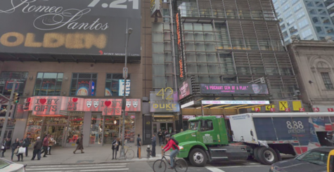 The Duke theater on 42nd street is shown via Google Street View. Choreographers, vocal coaches, and more come here to perfect every part of their show.  (Google Street View)
