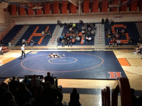 Hershey Wrestling Defeats Redland In A Controversial Match