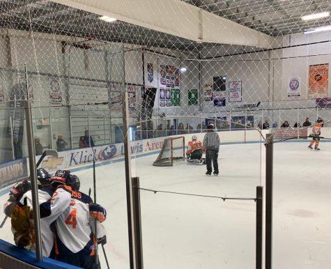Hershey High School Hockey Senior Night