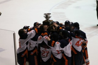 Hershey Ice Hockey Places Runner-Up in Flyers Cup
