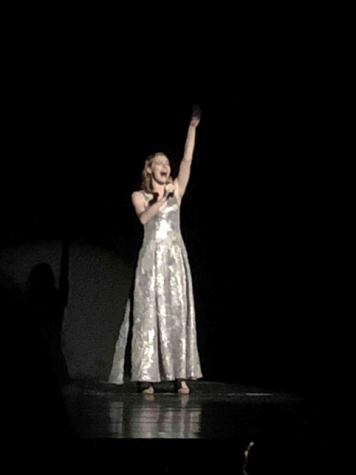 "Myah Koepfer performs ""Blow, Gabriel, Blow"" for the Apollo Awards on May 19, 2019. Koepfer was nominated for outstanding lead actress in a musical. (Broadcaster/Anika Hosenfeld)"
