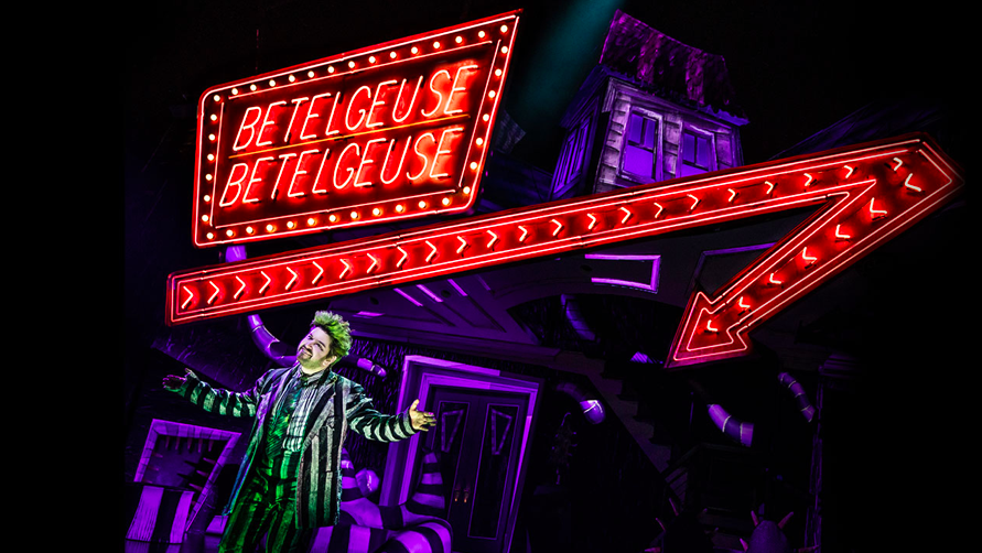Alex Brightman portraying the role of Beetlejuice. The show has been running since April 2019. (Beetlejuice The Musical/Matthew Murphy)