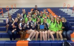 Hershey High School Cheerleaders Win District Championship