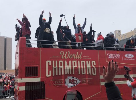 Kansas City Chiefs Celebrate Super Bowl Win with Parade