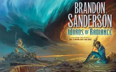 """Pictured is """"Words of Radiance"""" which is part of the Stormlight Archive series.  Author Brandon Sanderson is a fantasy and science fiction writer from Utah. (Tor Books)"""