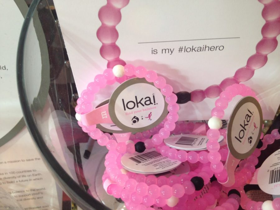 Pink Breast Cancer awareness Lokai bracelets, on sale at Knock Knock Boutique on October 9th 2015. The pink Lokai's will be available until the end of October since it is the official month of Breast Cancer.
