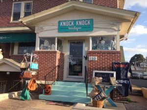 Knock Knock Boutique's Instagram, started in 2014, is currently where owner Emily Drobnock posts out to all her customers that follow the shop. Along with Instagram Drobnock uses Twitter and Facebook to reach out to her customer's and let them know when something new has arrived in the shop. (@shopknockknock)