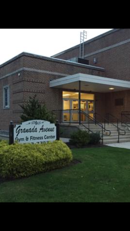 Granada gym on October 9th 2015. Granada was a part of the original high school.