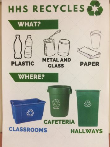 Young Democrats Create Recycling Program
