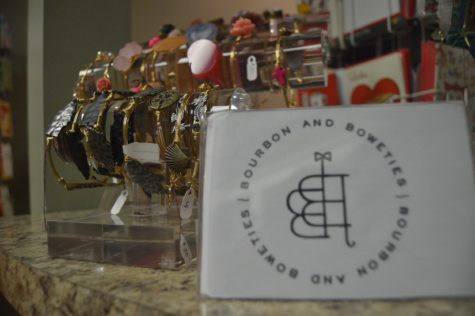 Bourbon and Boweties bracelets, $30-60, show your personality with  the variety of artsy bracelets.
