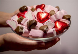 Valentine's Day candy remains on sale even after the 14th of February. (Photo Courtesy of weheartit.com)