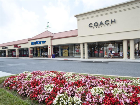 The Tanger Outlets in Hershey, PA is home to many designer stores like Coach and Nautica.  Photo Courtesy of www.tangeroutlets.com