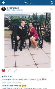 With 228 likes, this picture of Palutis from homecoming has gotten her personal record for likes. Palutis puts very much thought and effort into all of her social media posts.