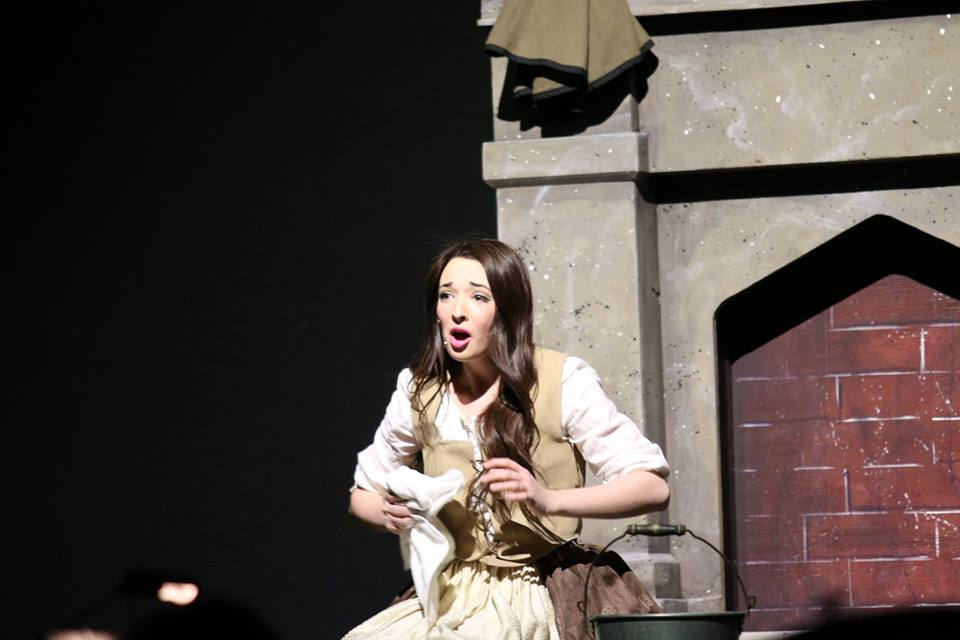 Junior, Brenna Beck, performs in her role as Cinderella in Hershey High School's production of Into the Woods last March. Beck was nominated for an Apollo Award for her performance of this role. (Broadcaster/ submitted Mark Balanda)