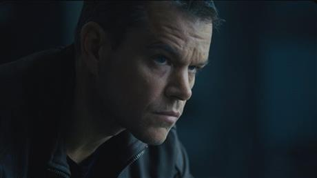 "Jason Bourne, played by Matt Damon, is seen in the all new Bourne movie. ""Jason Bourne"" enters theaters July 29. (AP Photo/ Jake Coyle)"