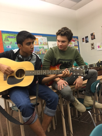 Students Jamming Together