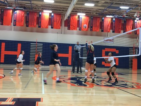 Hershey Girls Volleyball defeats Milton Hershey