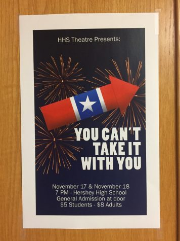 """You Can't Take it with You"" will be at HHS on November 17 and 18. The cast rehearsed for a month prior to opening night. (The Broadcaster/Tori Moss)"