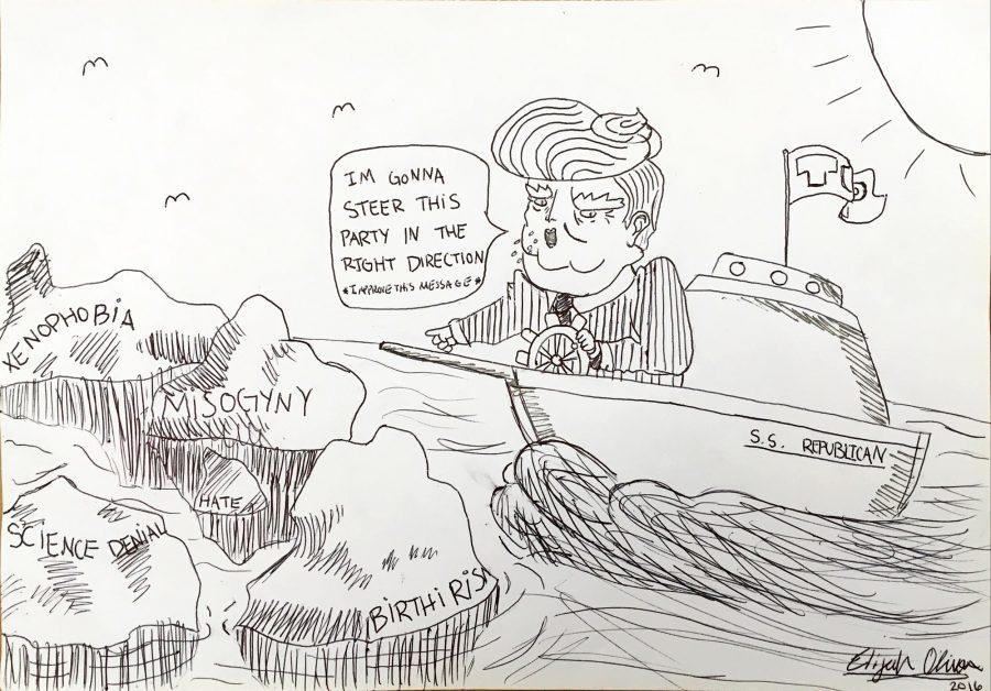 Advisor's Note: The Broadcaster's Editorial Cartoon