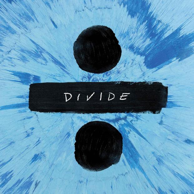 """Ed Sheeran's new album cover is """"Divide"""". All of his albums are named after a mathematical operations such as X and +. (Independent/Shepherd)"""