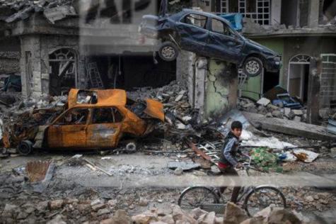 Civilians in Danger: Mosul Battle