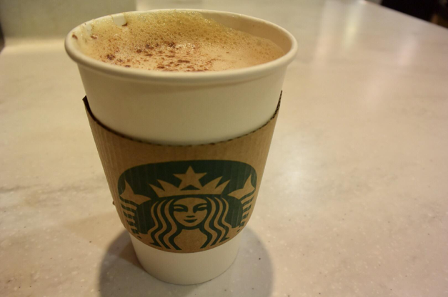As October comes along, so does the popular pumpkin spice lattes. Starbucks, Dunkin Donuts, and the Cocoa Beanery are just a few of some local coffee shops that serve the perfect treat for colder weather. (Broadcaster/Clare Canavan)