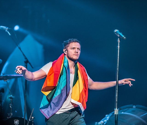 Imagine Dragons lead singer, Dan Reynolds, performing November 23, 2017 in Philadelphia, PA. The band comes to Hersheypark Stadium Saturday, June 16, 2018.  (Imagine Dragons)