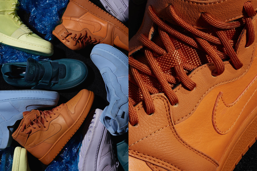 Vintage-inspired Jordans are pictured in various vibrant colors. With women calling for change in the sneaker industry, Nike is working to collaborate with a number of celebrities to give women the chance of buying the vintage-inspired Jordans. (Nike)