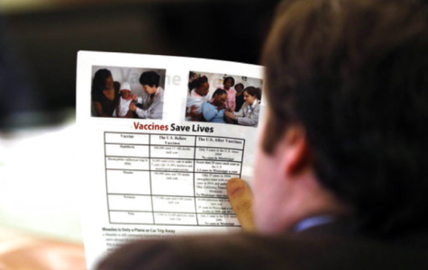 Delays in Vaccinations Lead to Disease Outbreak