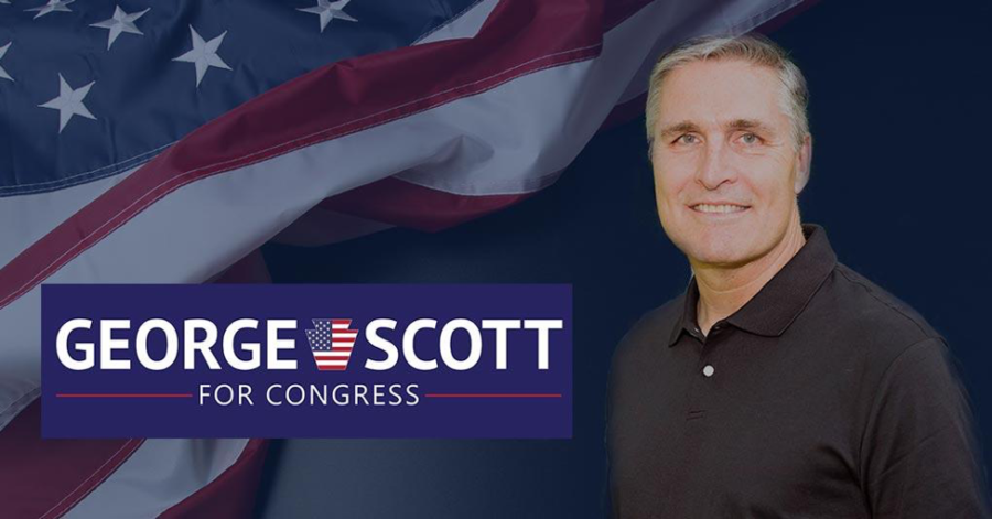 George Scott is pictured in an image from his campaign website.  Scott running for PA-10th congressional seat, and the primary election will be held on May 15, 2018. (George Scott for Congress)