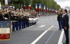 France celebrates Bastille Day July 14