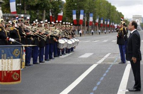 France celebrates Bastille Day July 14