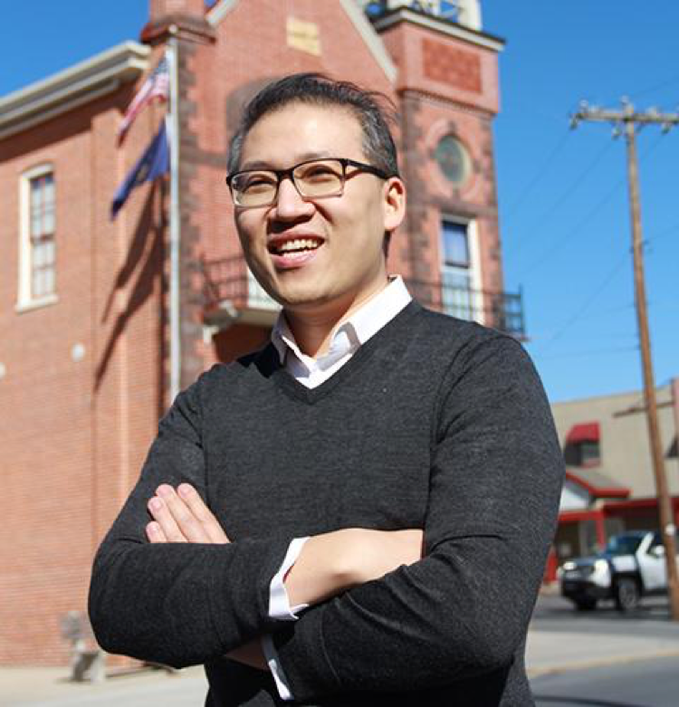 Dr. Eric Ding is pictured in an image from his campaign website. Ding ran for PA-10th congressional seat in the primary election, held on May 15, 2018. (Eric Ding for Congress)