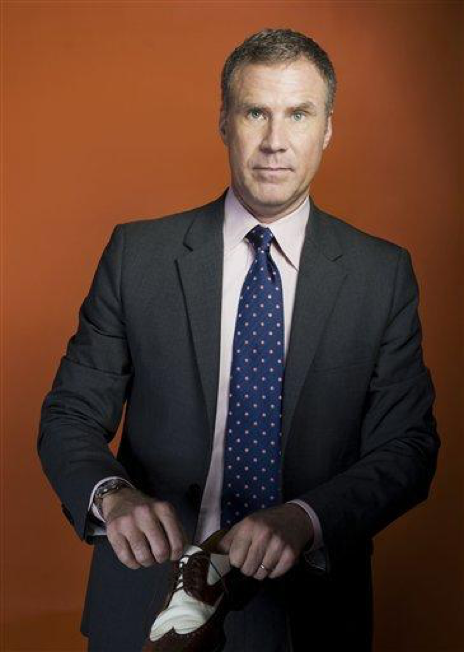 n this April 27, 2011 photo, actor Will Ferrell poses for a portrait in New York. After starring on Broadway as former President George W. Bush in 2009's You're Welcome America, he has guest starred on The Office, shot a Spanish-language comedy, Casa de Mi Padre, and is now releasing a dramatic independent film, Everything Must Go. (AP Photo/Victoria Will)