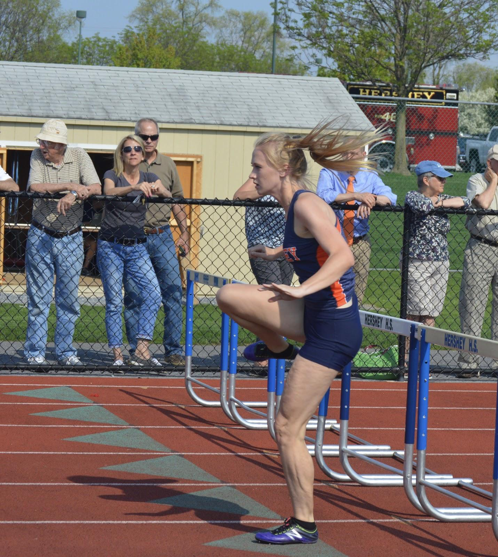 Hannah+Malmer+competing+in+the+300m+hurdles.+Malmer+has+decided+to+attend+Penn+State+University+next+year.+%28Broadcaster%2FAlexis+Moodie%29%0A