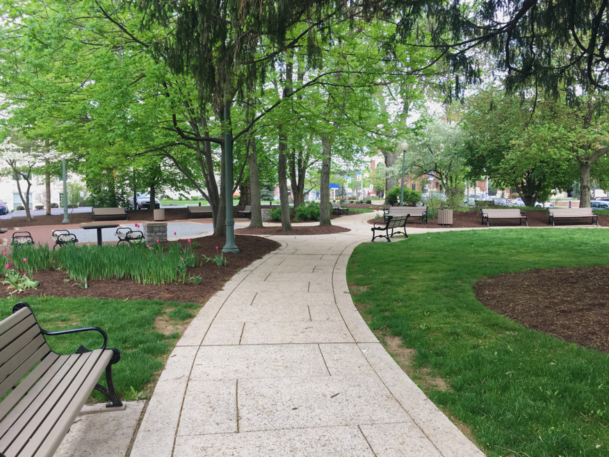 Downtown Hershey (pictured above) is the main clean-up area for the Kiss Hershey Back (KHB) event. This year, KHB will be held on May 12th. (Broadcaster/Leah Koppenhaver)