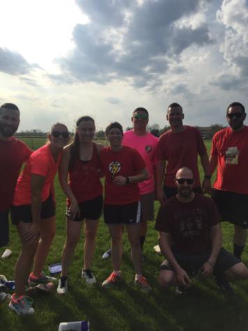 PSU Medical Center Nurses Bond with Kickball Tournament